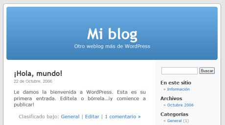 Mi blog en WordPress