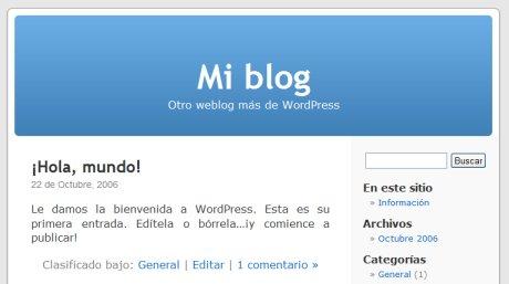 Mi blog en WordPress