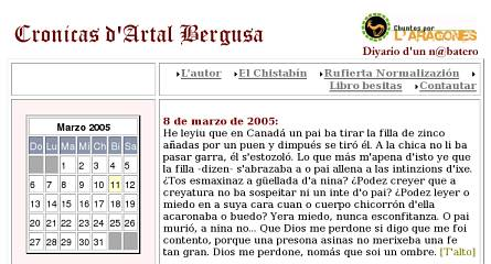 Crónicas D'Artal Bergusa