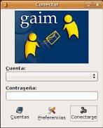 Gaim, mensajería
