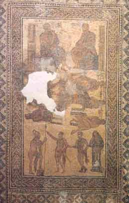 Mosaico de Los siete sabios de Grecia