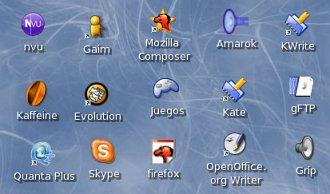 Iconos en Linux