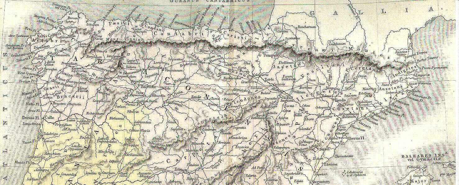 Os presentamos parte del mapa atribuido a Ptolomeo con las ...